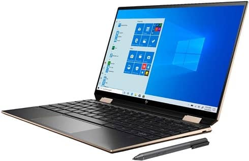 HP spectre x360 - best laptop for writers