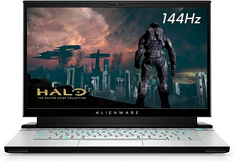 Alienware m15 R3 - best dell laptop for hacking