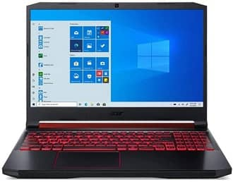 Acer Nitro 5 - best money value laptop for Revit